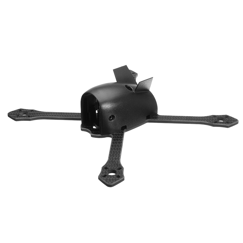 Flyingmouse 210mm Wheelbase 4mm Arm Carbon Fiber RC Drone FPV RacingFrame Kit with PDB Board