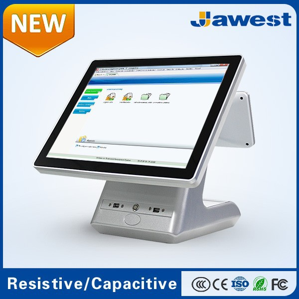"Only $199 direct factory price retail POS/15"" POS Terminal with 2 Years Warranty"