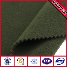 e-PTFE Membrane Bonded Softshell Waterproof Breathable Polyester Fleece Fabric for Outdoor