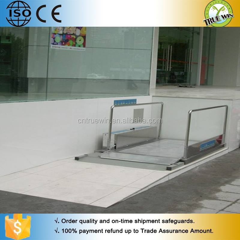 Chair Lift For Stairs Barrier Free Lifting Platform / Disabled Chair