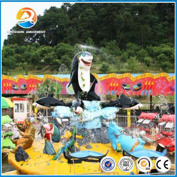 King of amusement rides outdoor park shark island rides