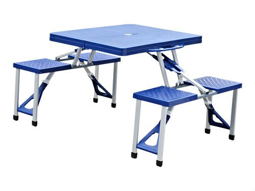 Pique nique table pliante table de camping portable de table autres meubles pliants id de - Table picnic pliante decathlon ...