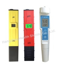 2017 hot sell OEM cheapest high quality accurate atc ec mini pen type portable water lcd competitive low price digital ph meter