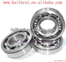 High performance widely use carbon steel / chrome steel bearing 6206 bearing