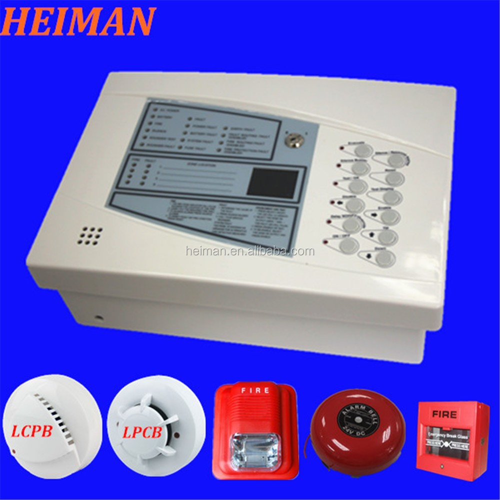 HEIMAN Fire detection alarm system with alarm bell