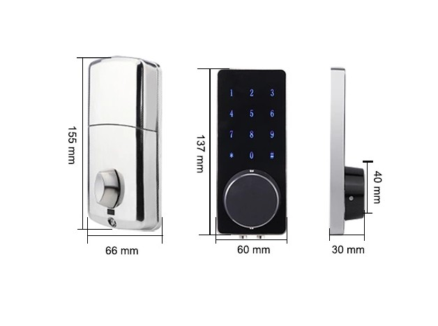 Hot sale Electronic Fingerprint Key cheap smart lock finger print door lock digital Intelligent door lock