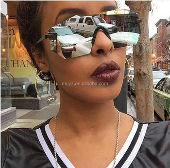 97c62d48bc L0987A 2017 newest fashion mirror sunglasses men women sunglasses party sun  glasses