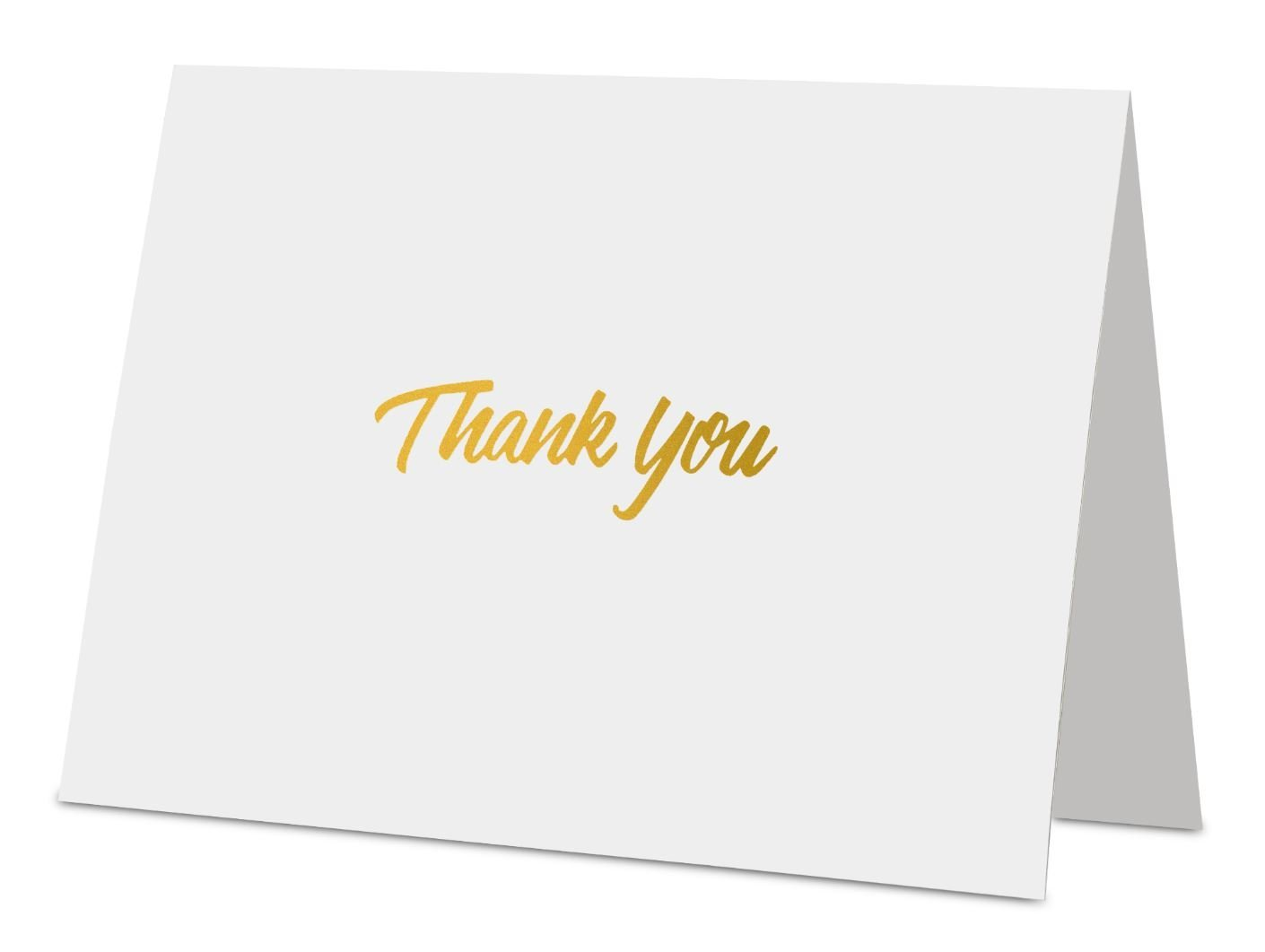 Designer Envelope Thank You Cards With Envelopes - Thank You Cards Wholesale For Weddings, Birthdays