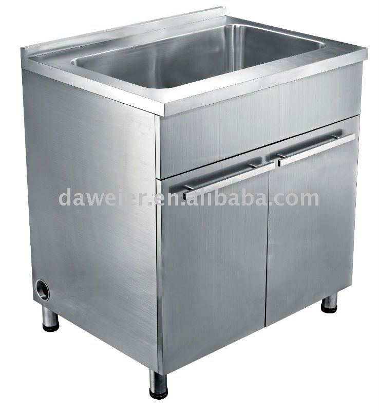 Stainless Steel Sink Cabinet, Stainless Steel Sink Cabinet Suppliers And  Manufacturers At Alibaba.com