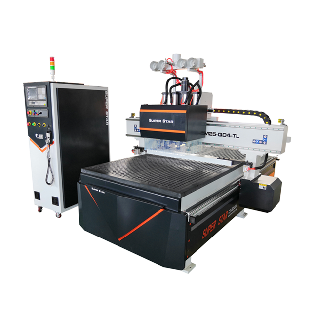 Jinan SUPERSTAR good quality ATC <strong>cnc</strong> 1325 wood cutting machine/woodworking machine <strong>cnc</strong> router