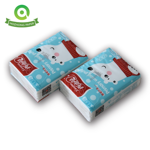 Promotional wholesale mini pocket pack facial tissue