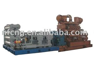 Gas Engine Driving CNG Compressor M-13/15 - 200 For Mother Refueling Station
