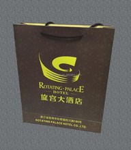 custom paper shopping bag custom brand name wholesale for india