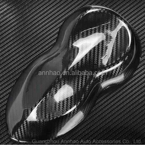 Annhao 1.52*18m Auto Repacking  car Decal Vinyl 5D carbon fiber roll