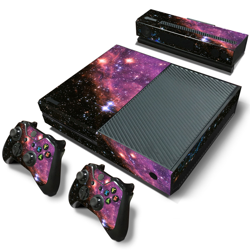 Star Sky waterproof Decal Controller and Console Sticker for XBOX ONE Skins Whole Body Cover