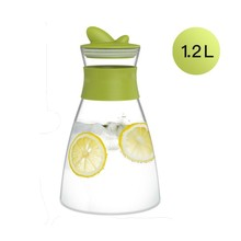 zova 1200ml Glass Water Pitcher