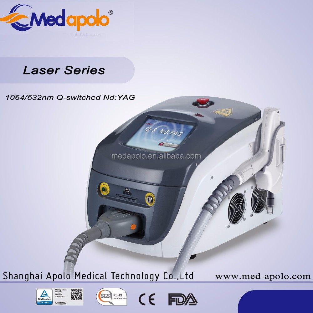 Manufacturer Supplier laser 532 1064 nd yag q switched