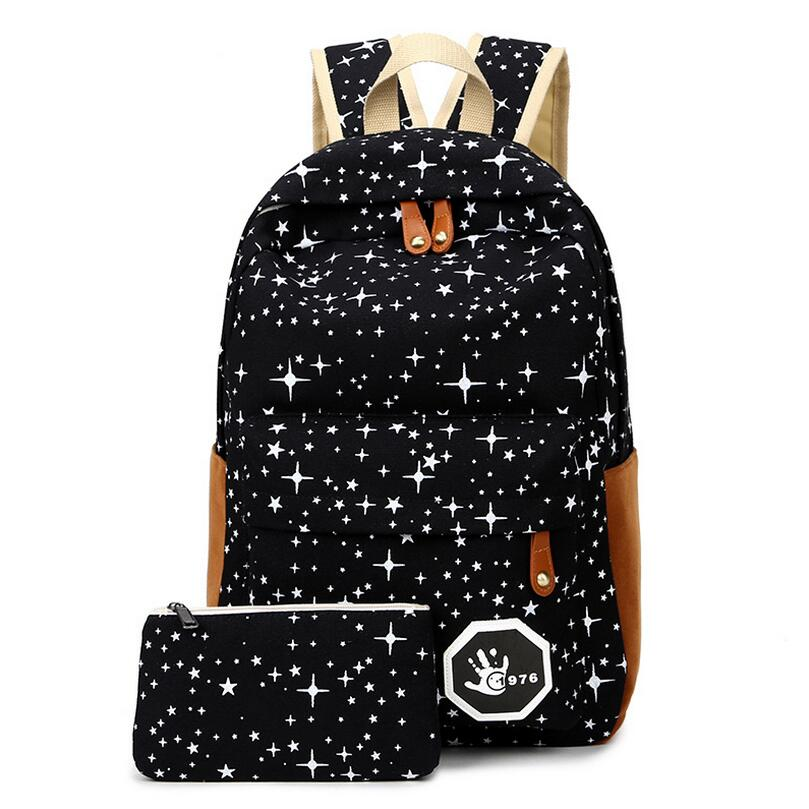 luggage amp bags fashion star women men canvas backpack