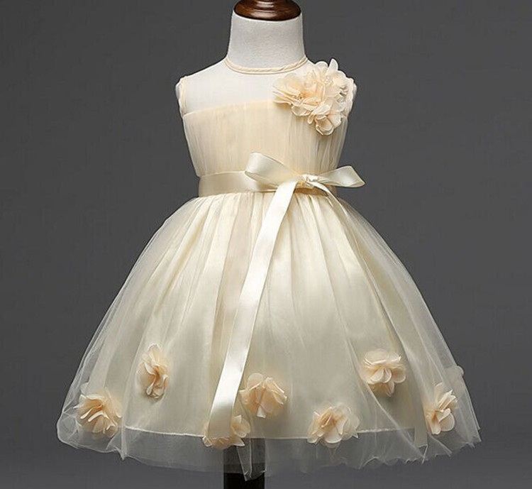 Guangzhou Whole Vintage Flower Net Dresses Of 5yrs Old For 5 Years