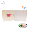Light activated music sound invitation greeting card printing