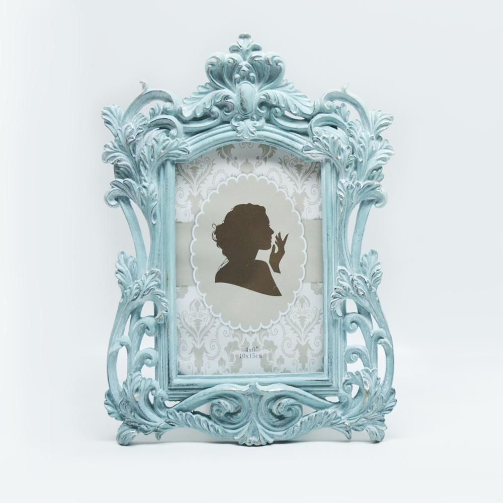Handmade Antique <strong>Vintage</strong> Resin Photo <strong>Frame</strong> , white baroque picture <strong>frames</strong> 8x10