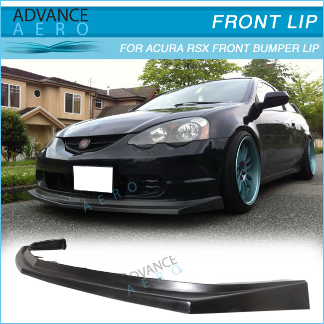 For Acura Rsx Dc5 02 03 04 Cs Style Add-on Pu Front Bumper