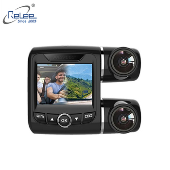 Dual car camera FHD 1080P car black box night vision WDR Car recorder dash cam with G sensor