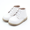 2017 Children Shoes Hard Rubber Sole Genuine Leather Baby Kids Sneakers
