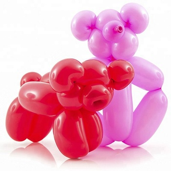 Colorful Long Shape Baseball Latex Balloon Wholesale
