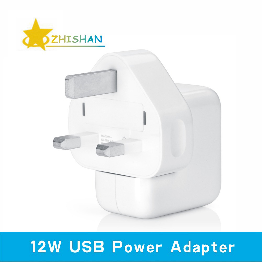 Hgih Quality Imitation 12W USB Power Adapter Travel Charger for Apple iPhone 5 5s iPad mini Air iPod nano 100 pcs/lot Wholesale