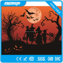 2017 New Design LED Lighting canvas painting for Halloween Theme