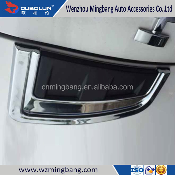 Car Accessories chrome side light cover for Toyota Revo 2015 Decoration Accessories