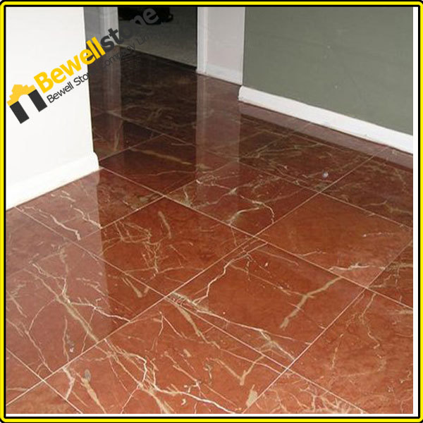Red Marble Floor : Red marble tile flooring design ideas