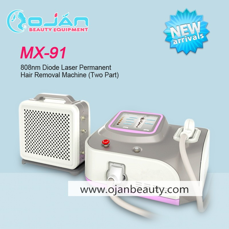 Safe and fast painless 808nm diode laser / diode laser hair removal / permanent hair removal