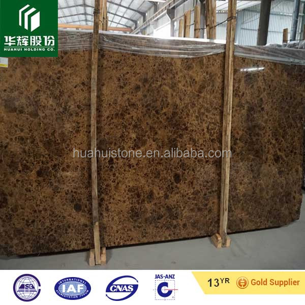 Natural Brown Marble Stone Tile Dark Emperador