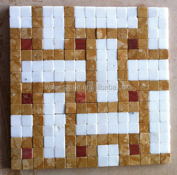 New Design Mixed Color Marble Mosaic Data Center Raised Floor Tiles