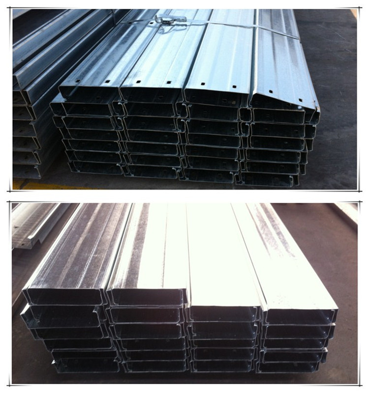 Steel structure HDG C section purlin
