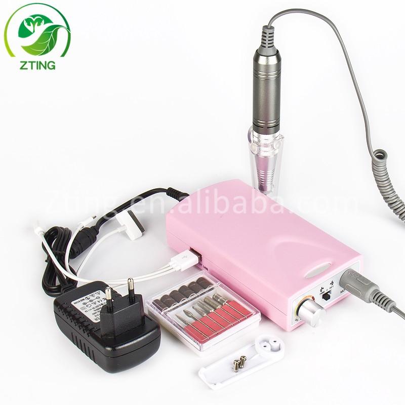 Nueva recargable y potable nail dril fabricante máquina de manicura ...