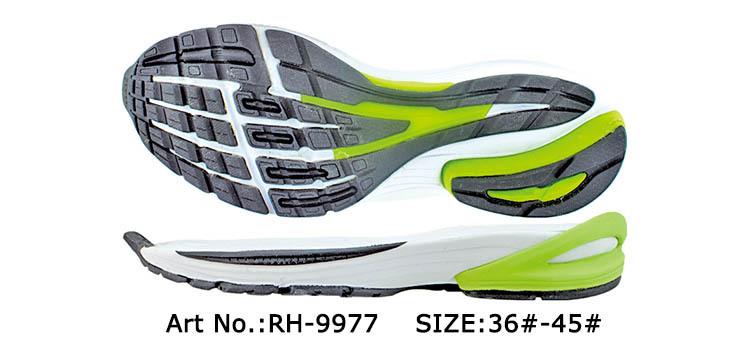 Wholesale Soft Rubber Arab Men Sole Running Shoes Wide Sole