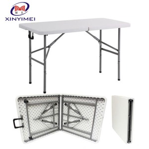 Low price of plastic dining table, wedding folding table