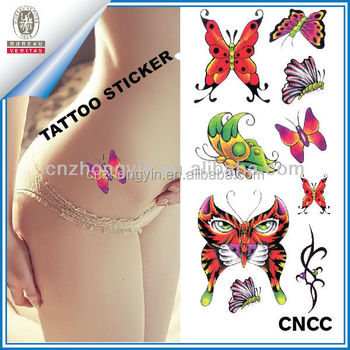 Temporary sex tattoo