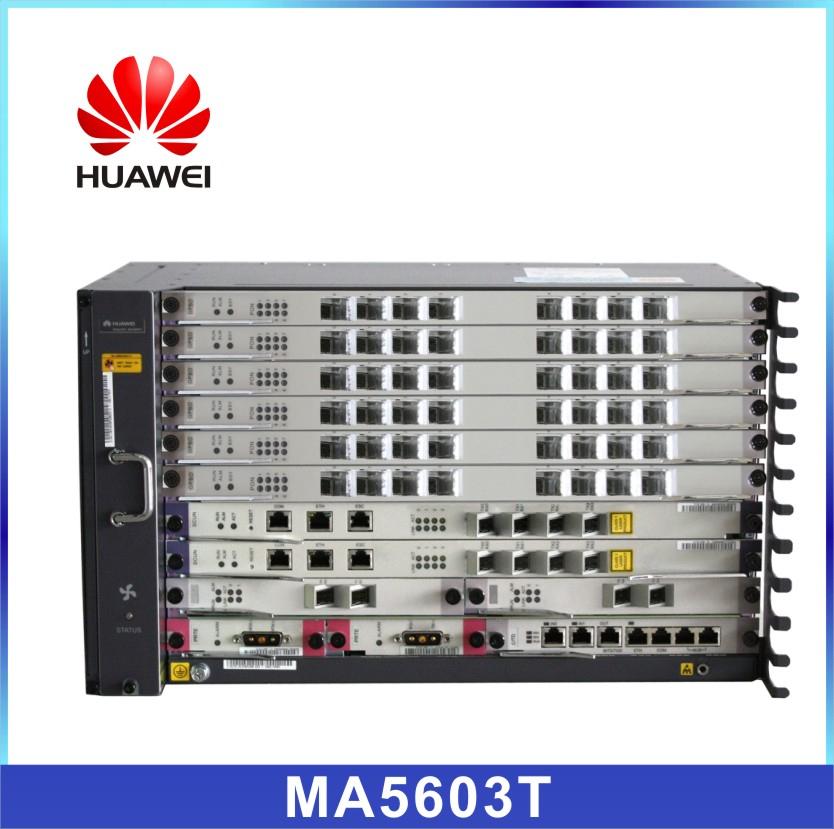 Huawei Gpon System Ma5603t 10g Epon Olt With Class B+ C+ C++ Pon ...
