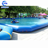 Cheap inflatable swimming pool enclosures bestselling inflatable square swimming pool