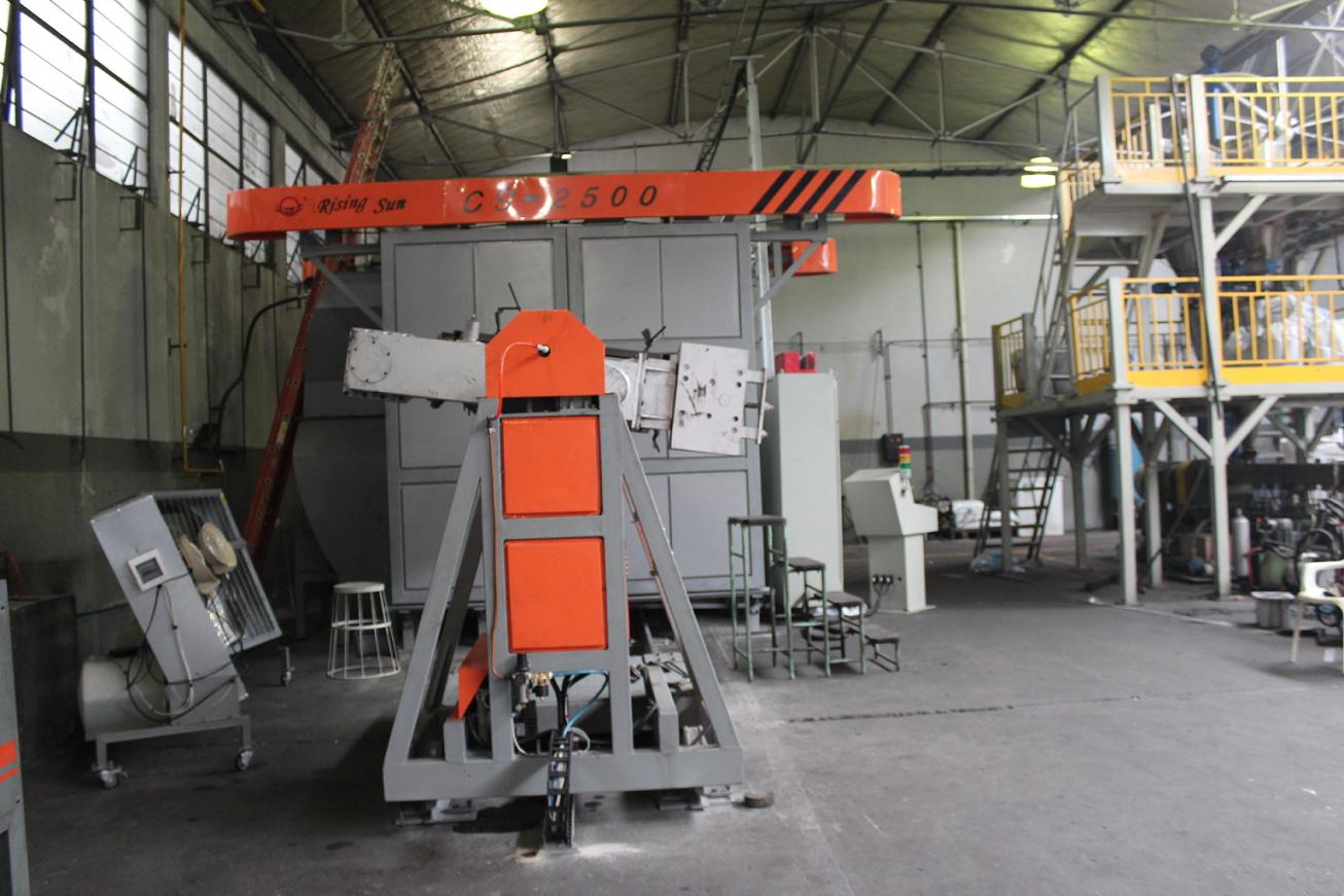 rotational molding machine fan mould roto mold