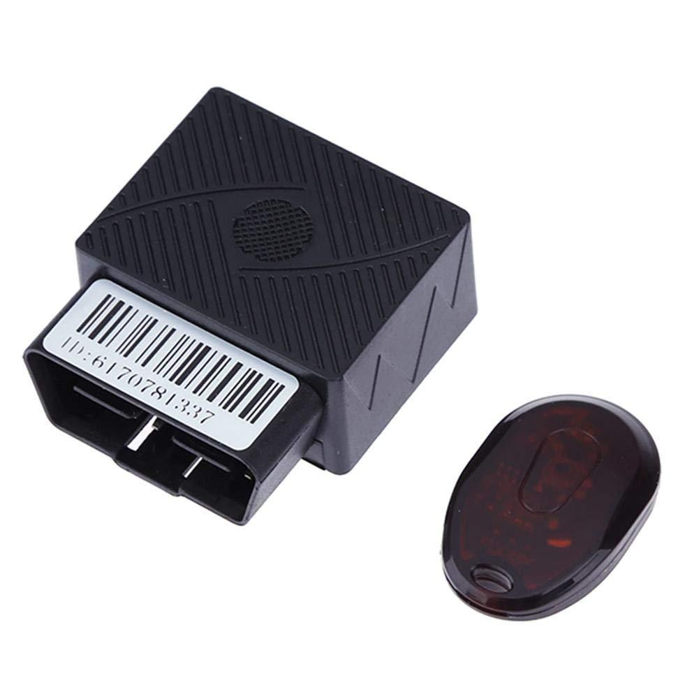 LiChiLan OBDII GPS Tracker, Mini Car Real Time GPS Tracker OBDII GSM GPRS Tracking Device