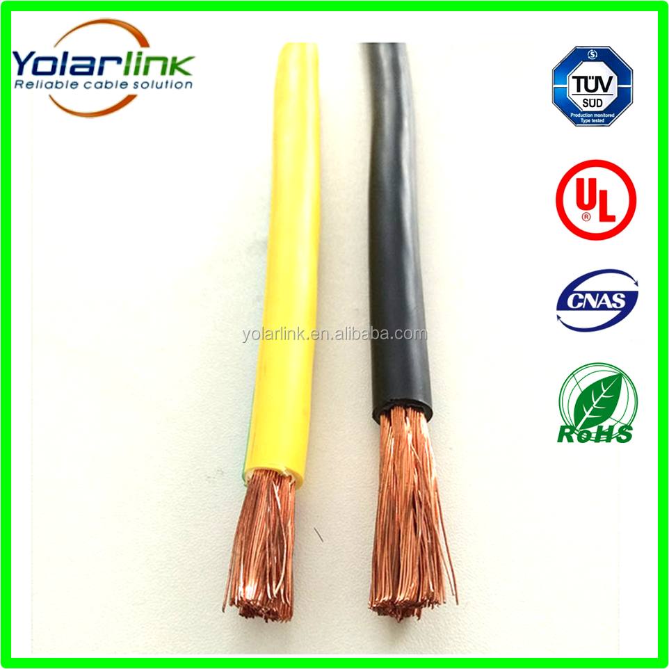 UL(CUL) 10900 Low-smoke halogen free earth Grounding cable 16mm 25mm 35mm 50mm