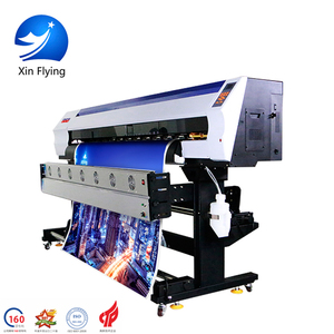 Speed 98m/h 1.9M 1440dpi Eco Solvent Human Digital Poster Vinyl Wrap Printer