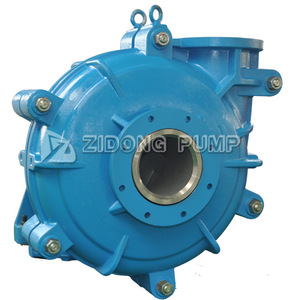 8/6E-ZH centrifugal dewatering mining slurry pump double housing ash pump