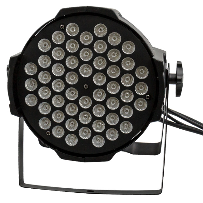 Par light rgb parcan 3w 54 pcs leds stage lighting