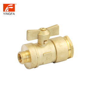 Latest style high quality 2 inch stainless steel water meter lockable ball valve